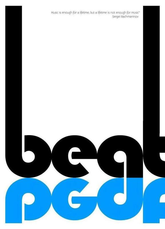 Beat -Leinwandbild