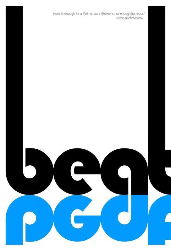 Beat Aluminium Print