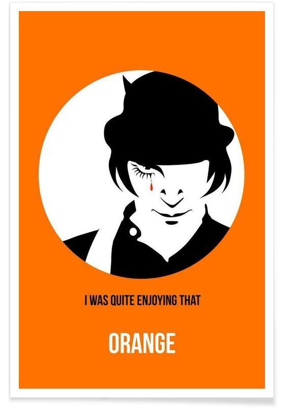 Orange Poster 2 affiche