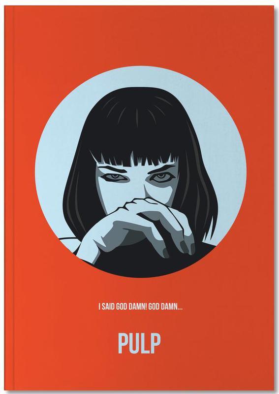 Films, Pulp Poster 1 Notebook