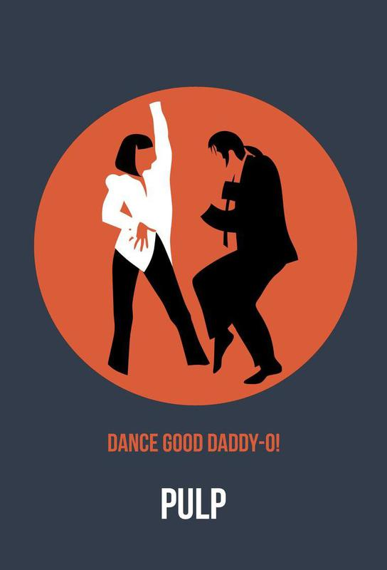 Daddy-O Poster 2 -Acrylglasbild