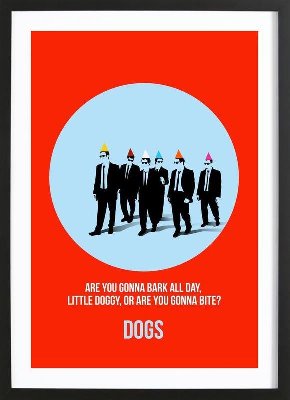 Dogs Poster 2 Framed Print