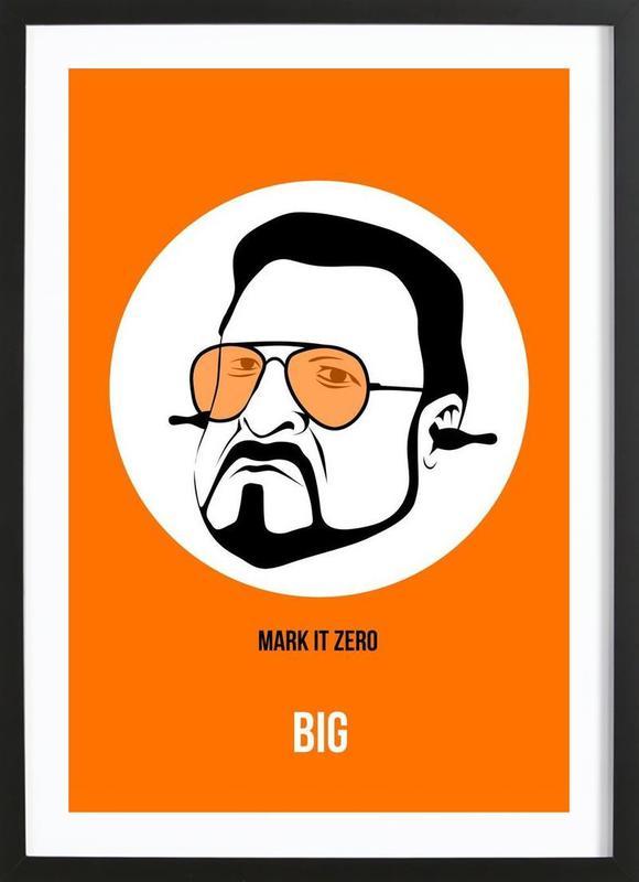 Big Poster 2 Framed Print