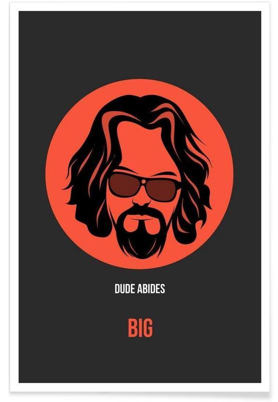 Films, Dude Abides Poster 1 affiche