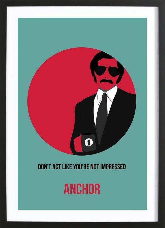 Anchor Poster 1 Framed Print