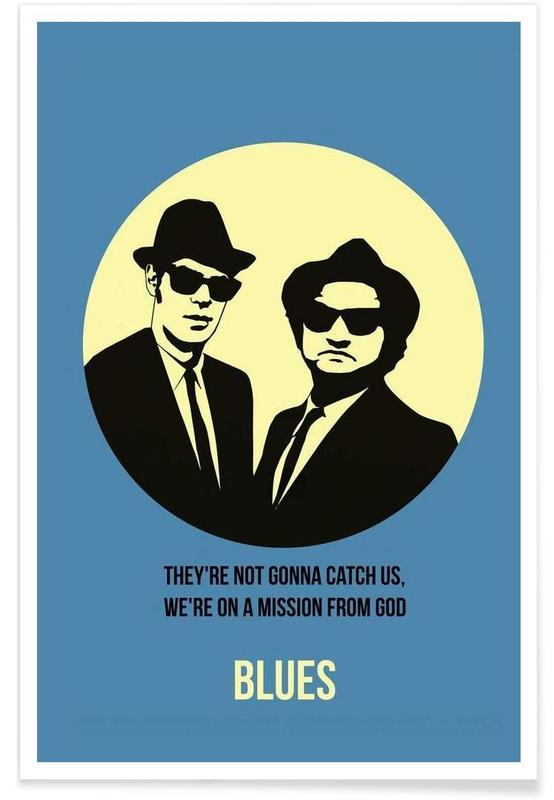 Films, Blues Poster 2 affiche
