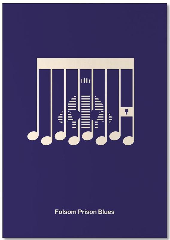 , Folsom Prison Blues Notepad