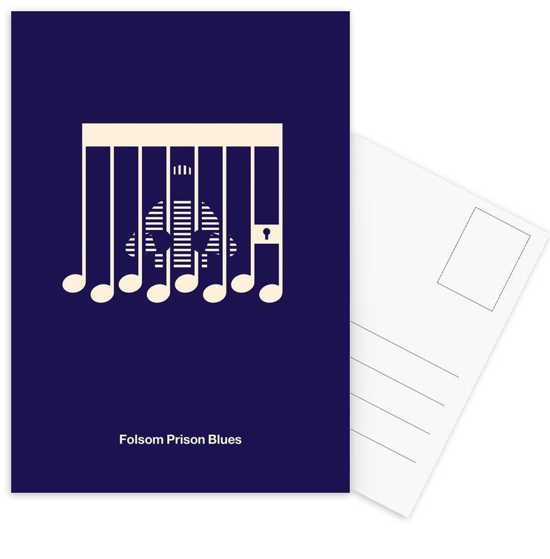, Folsom Prison Blues ansichtkaartenset