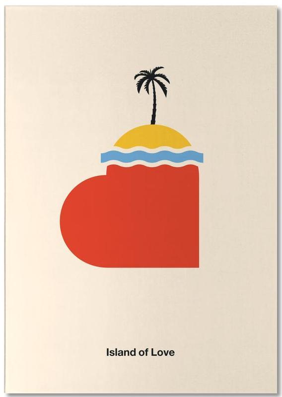 , Island of Love Notepad