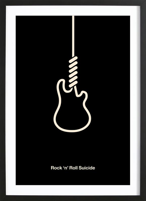 Rock 'n' Roll Suicide Framed Print