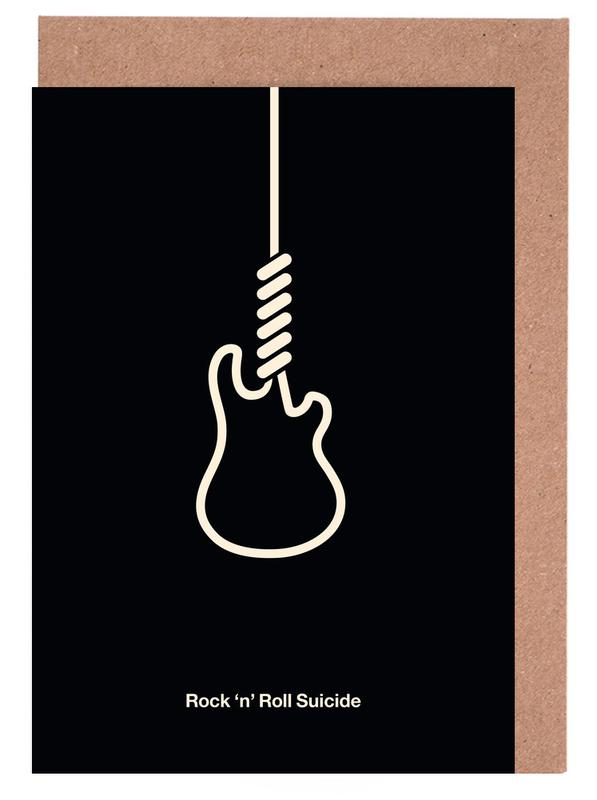Rock 'n' Roll Suicide Greeting Card Set