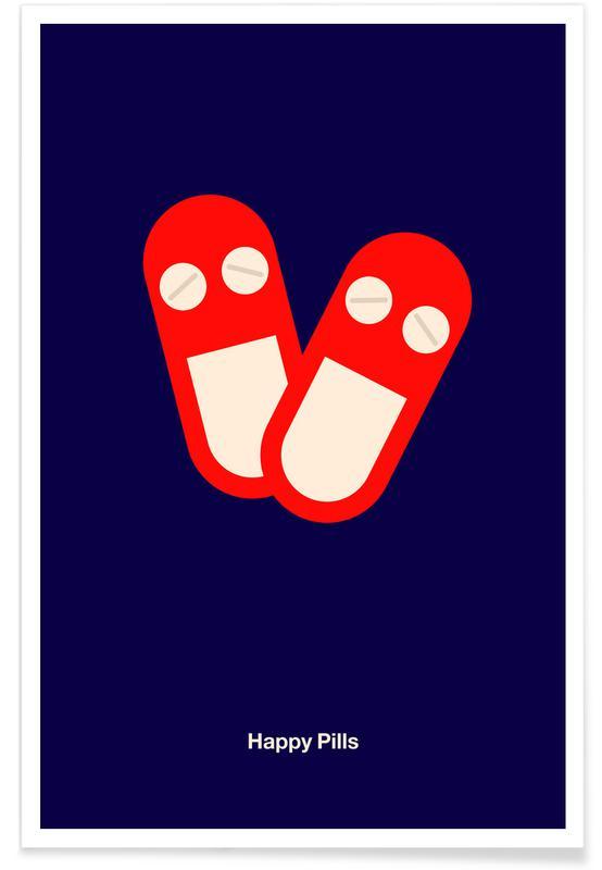 , Happy Pills affiche