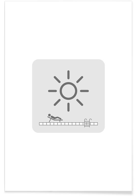 Humour, Sun Screen affiche