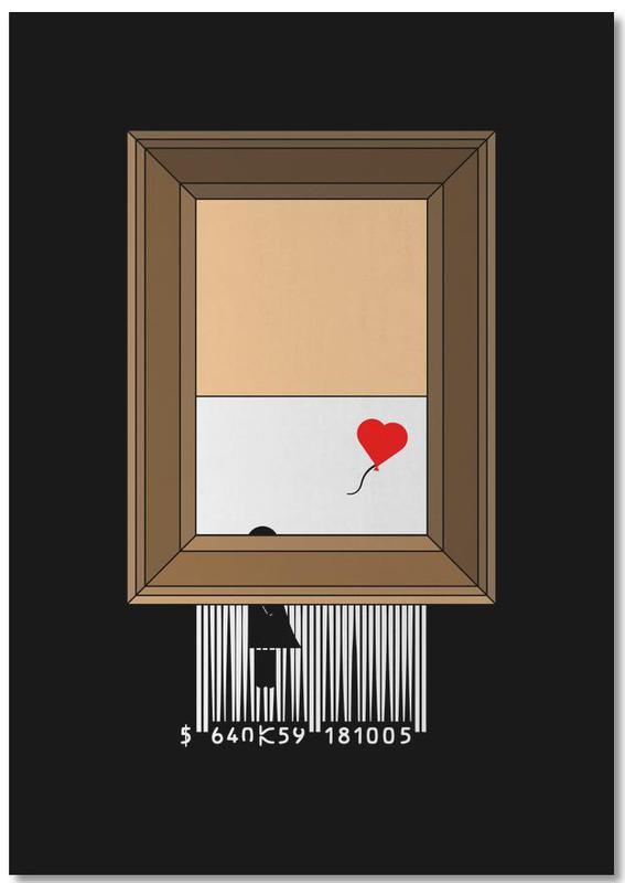 Funny, Banksy Shredding Notepad
