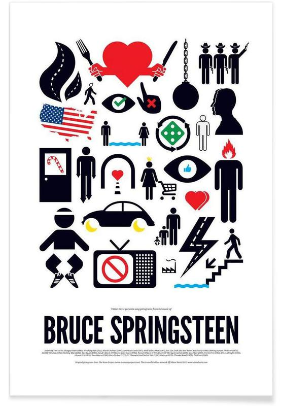 Rock, Bruce Springsteen affiche
