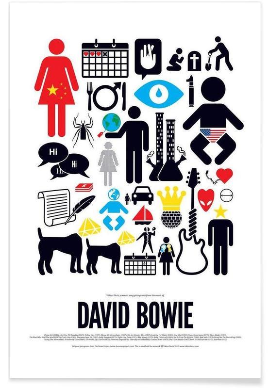 , David Bowie affiche