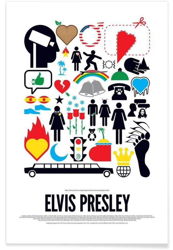 , Elvis Presley affiche