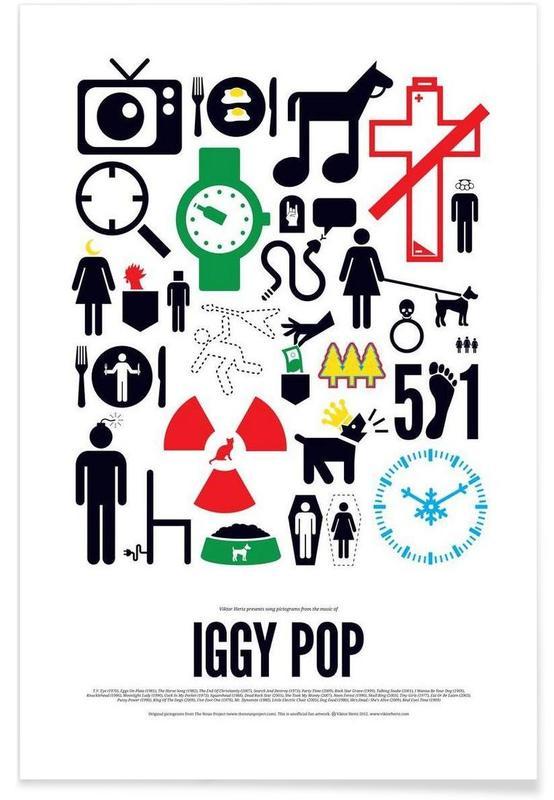 Iggy Pop affiche