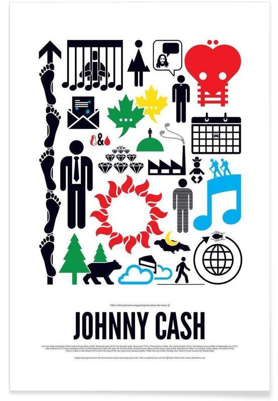 Rock, Johnny Cash affiche