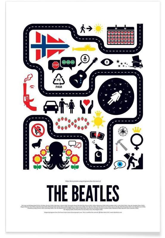 Rock, The Beatles affiche