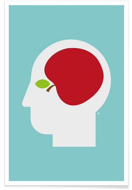 Apple head affiche