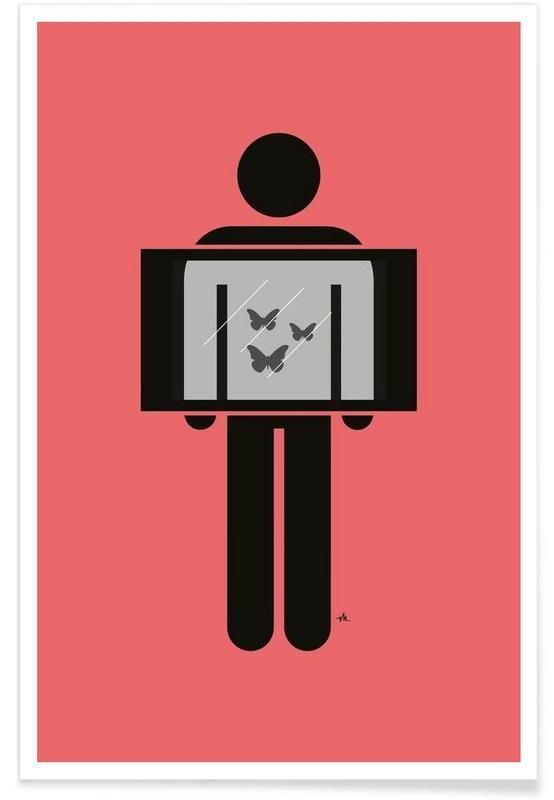 Anniversaires de mariage et amour, X-ray butterflies affiche