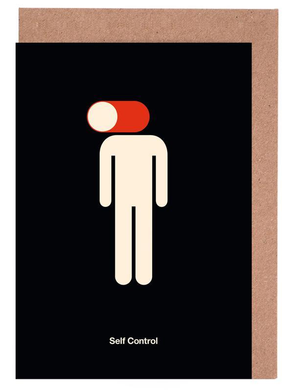 Self Control Greeting Card Set