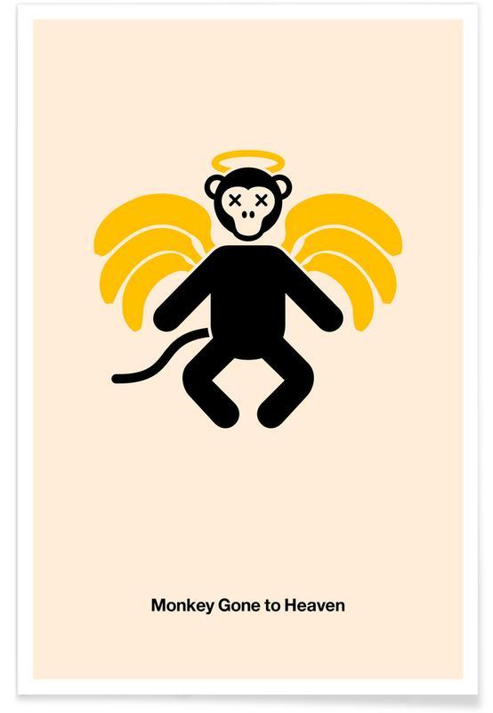 Rock, Monkey Gone to Heaven Poster