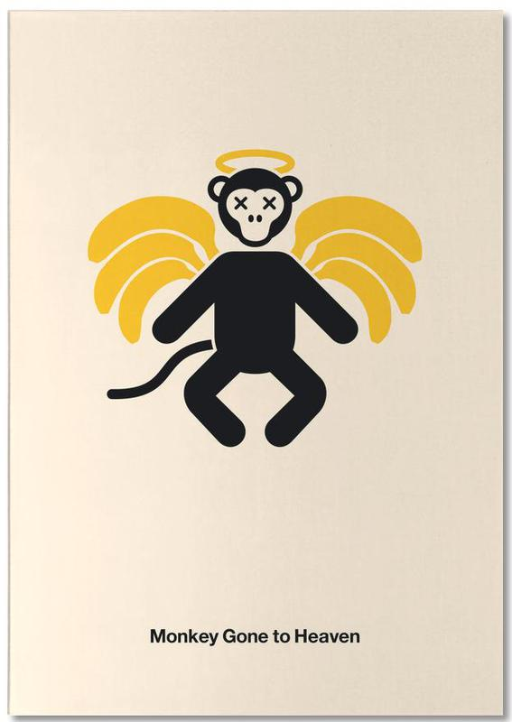 Rock, Monkey Gone to Heaven Notepad