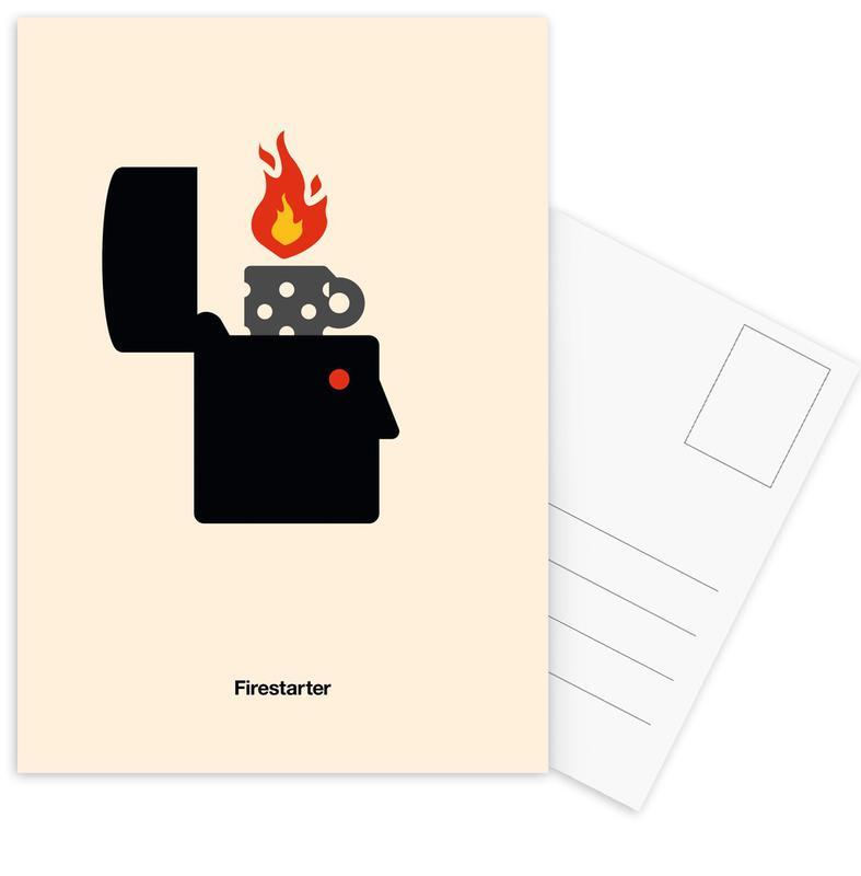 , Firestarter ansichtkaartenset