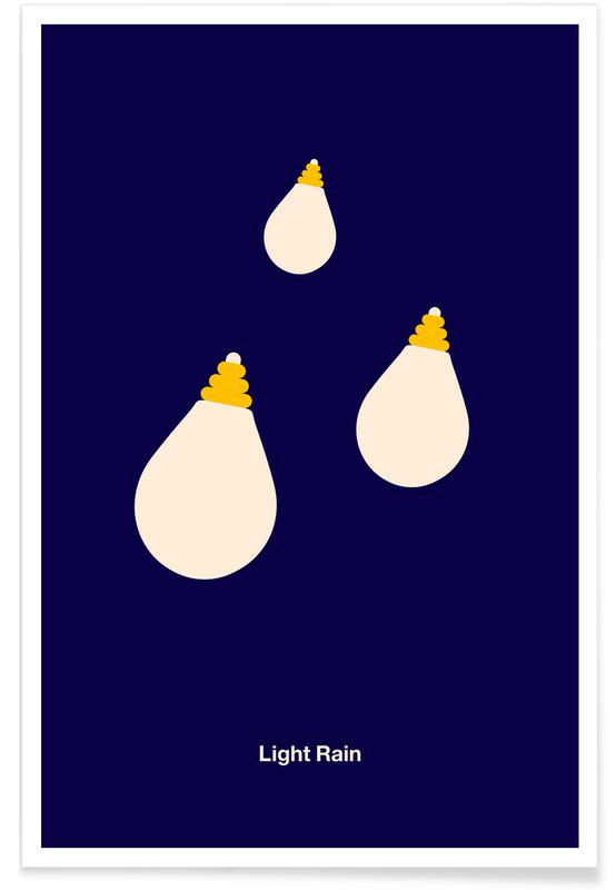 , Light Rain affiche