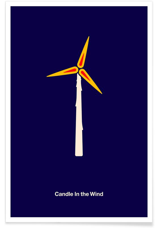 , Candle in the Wind Poster
