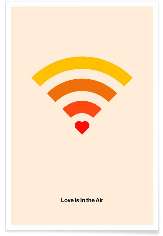 , Love Is In The Air Poster