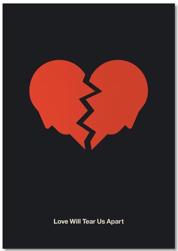 Rock, Love Will Tear Us Apart Notepad