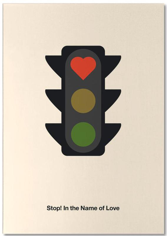 , Stop! In the Name of Love Notepad