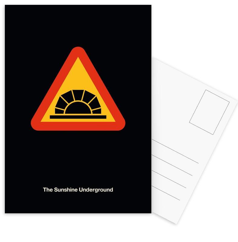 , The Sunshine Underground ansichtkaartenset