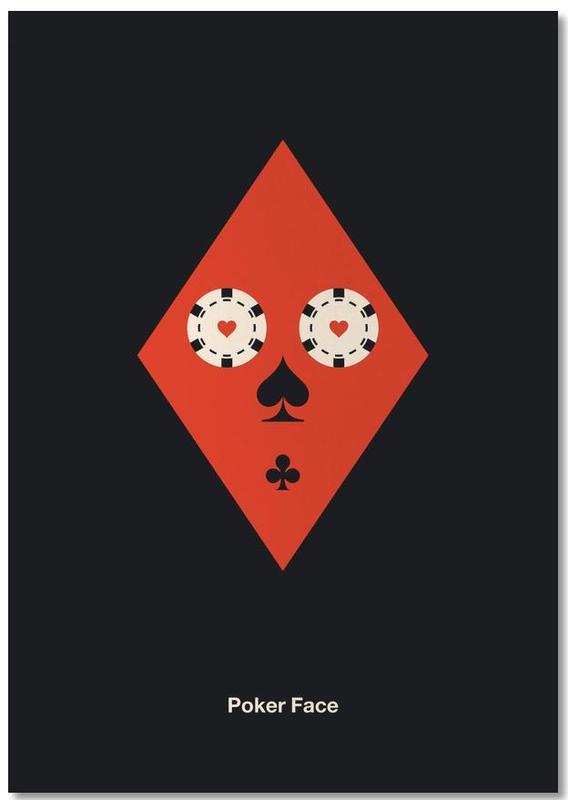 , Poker Face Notepad