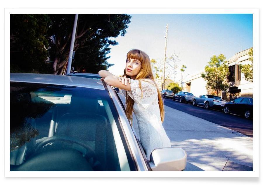 Photos de mode, Cars in Echo Park affiche