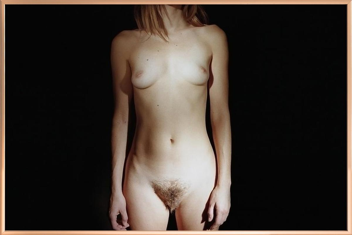 Nudity is Nature -Poster im Alurahmen