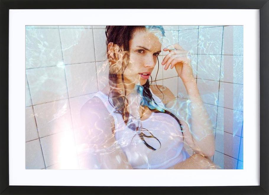 Water runs cold Framed Print