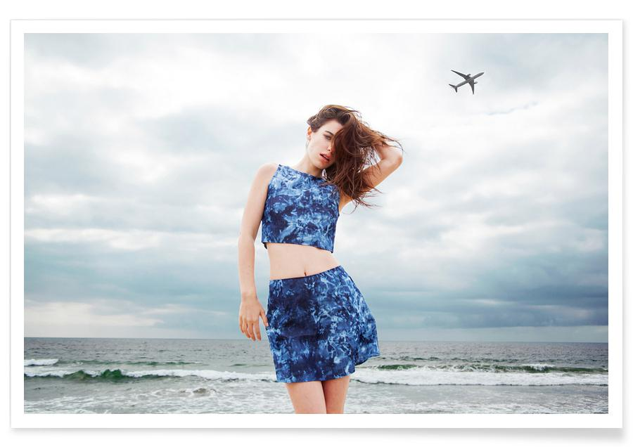 Fashion Photography, Ocean, Lake & Seascape, Airplanes Poster