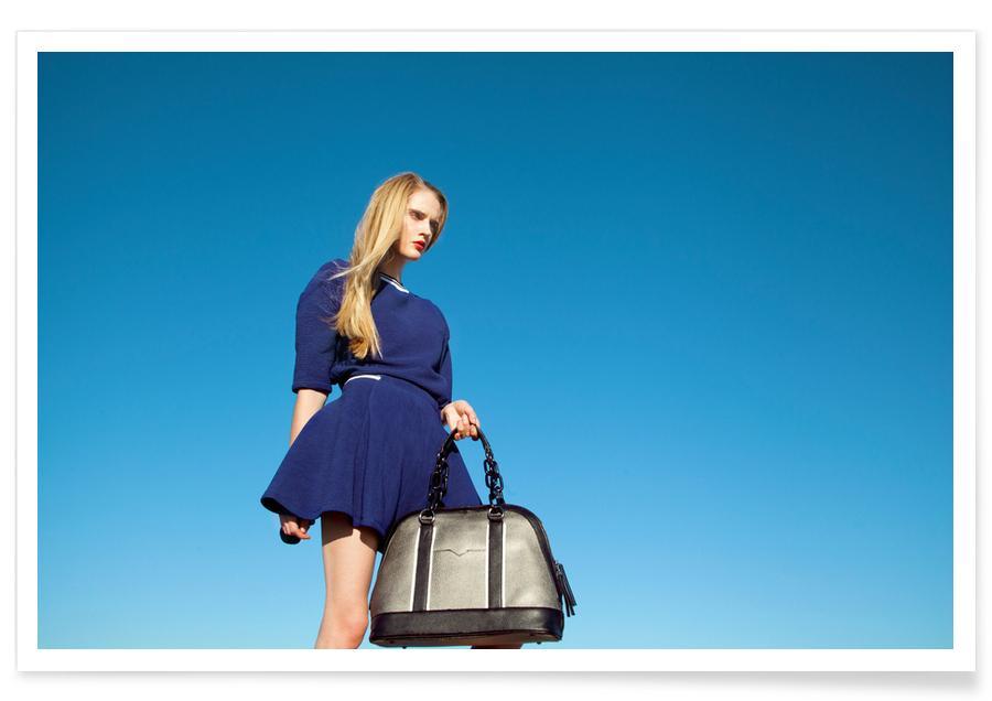 Modefotografie, In the Blue -Poster