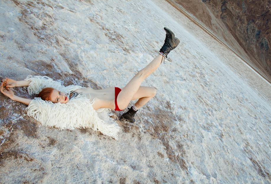 Salt Flats -Alubild