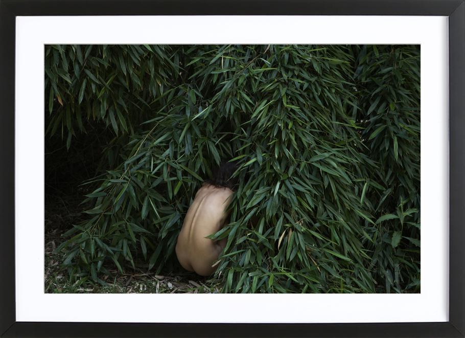 Wild Girl Framed Print