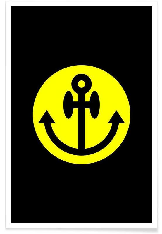 Anchor Smiley -Poster