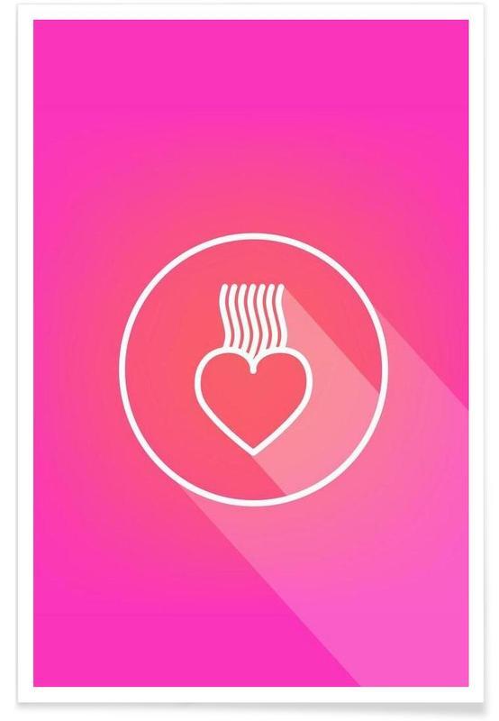 Cœurs, Icon No.2 affiche