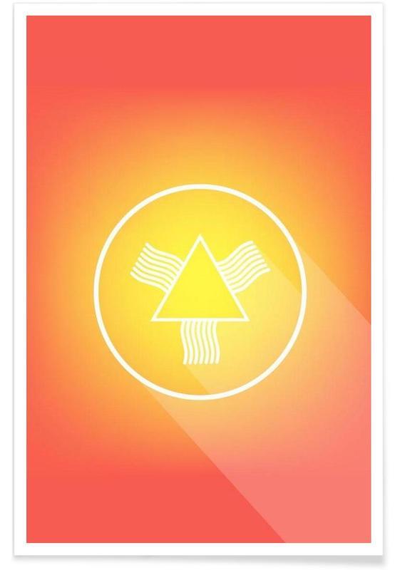 Symboles, Icon No.4 affiche