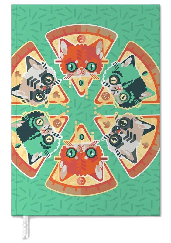 Pizzas, Chats, Pizza Slice Cats agenda