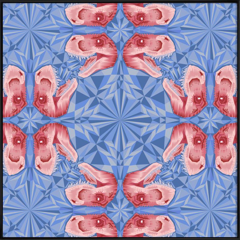 Trex Serenity Quartzrose Framed Poster