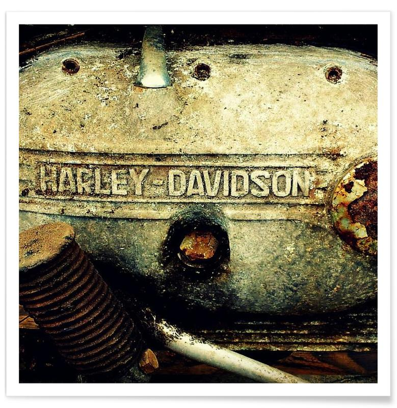 , Harley Poster